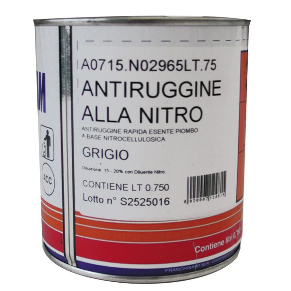 Antiruggine alla Nitro